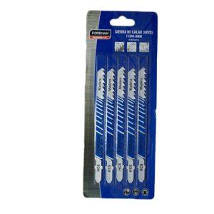 Hojas de sierras para caladora 5 PZS 75 X 1.2mm Para metal