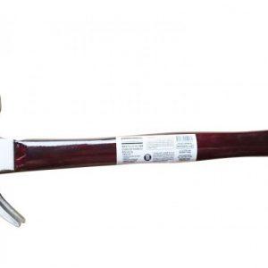 Martillo de uña cabo de madera 16oz 454g
