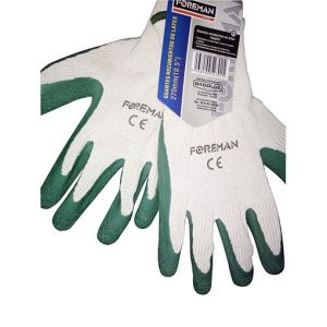 Guantes recubiertos de latex 270mm (10.5″)