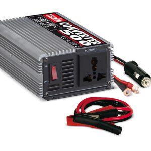 Convertidor de voltaje CONVERTER 500 in 12V out 230V