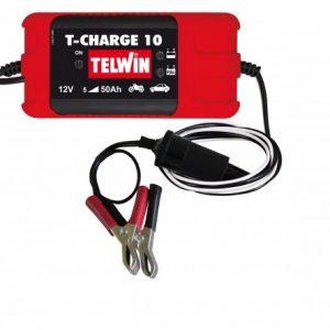Cargador de Baterías T-CHARGE 10 12V 40W c/Accesorios