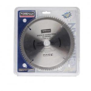 Disco de sierra para aluminio 210mm (8-1/4″) 80D para 13605/FO