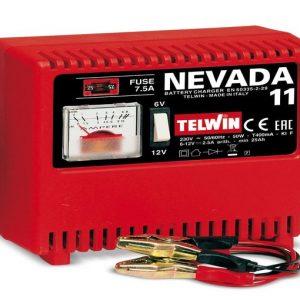 Cargador de Batería NEVADA 11 6/12V 50W c/Amperímetro