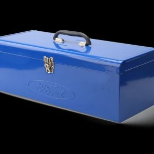 Caja de herramientas de metal 43×17,7×19 cm